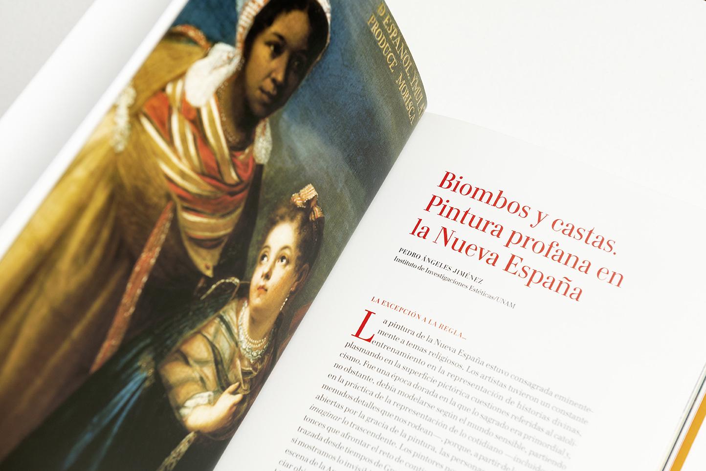 Biombos y castas. Pintura profana en la Nueva España